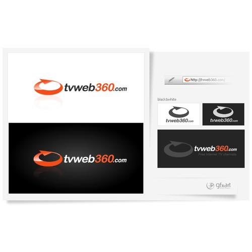 Logo for a WebTV website