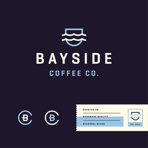 Logo for Bayside Coffee Co.
