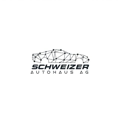 Modern technology logo for Car dealership