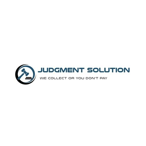A logo for Judgment enforcement