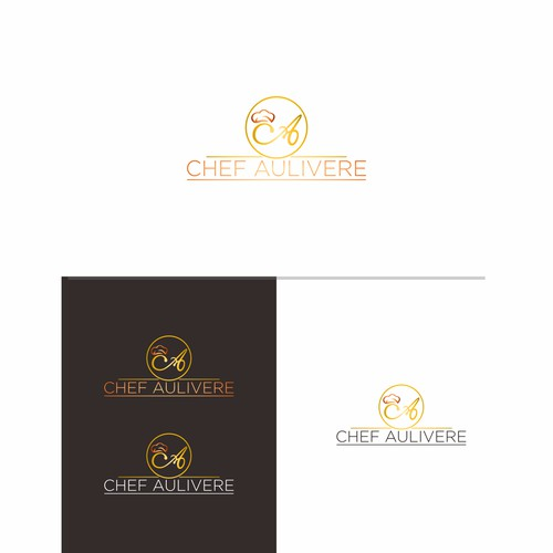 Design a Elegant and Inspiring Logo for Chef Aulivere