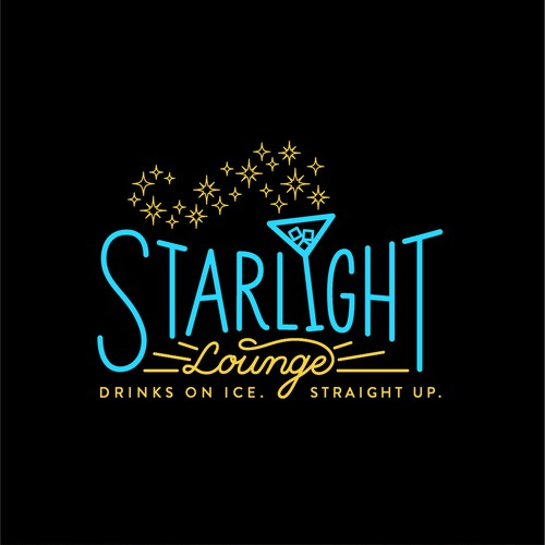 Hand-Lettered Logo for New Orleans Lounge