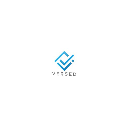 logo design concept for versed