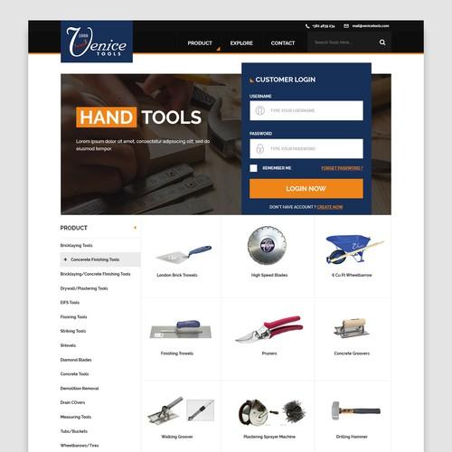 Hand Tools Website