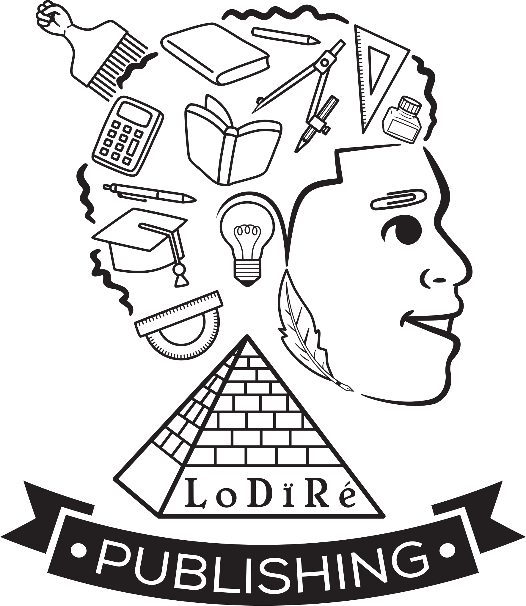 Logo design for publishing company