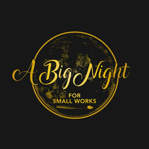 Logo for A Big Night for Small Works