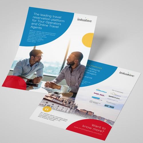 Travel Technology Company Flyer