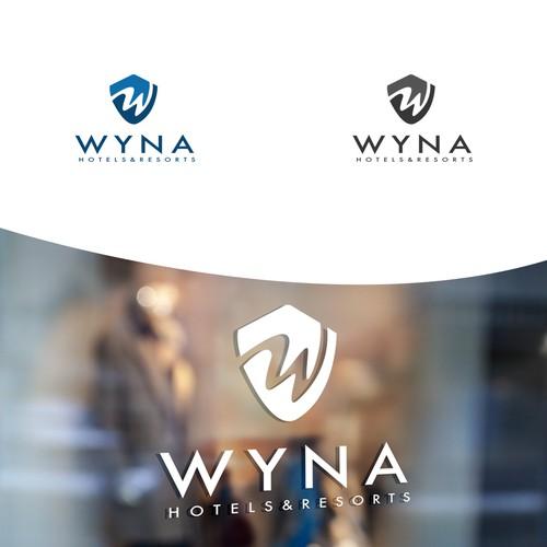 WYNA logo design