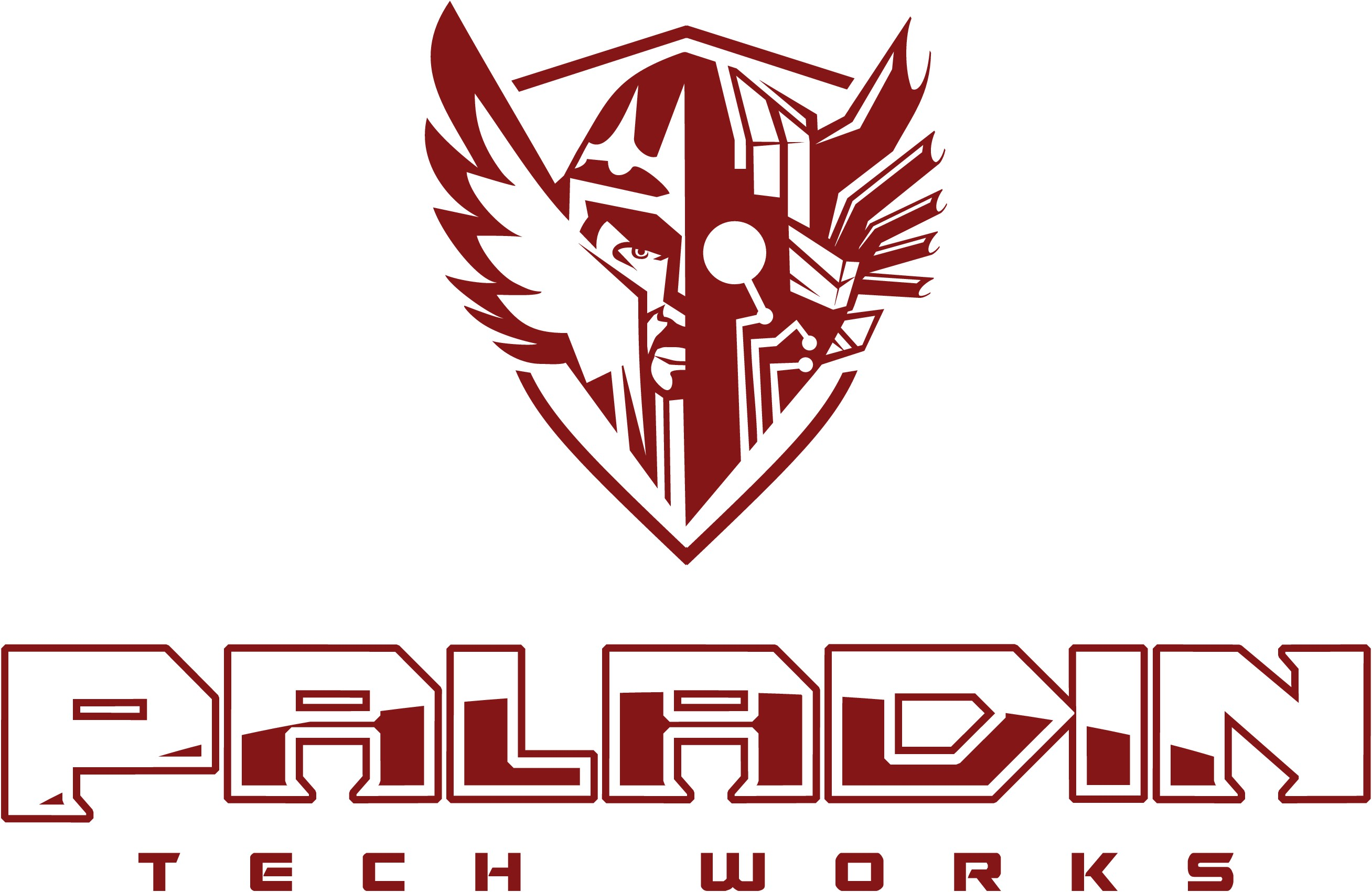 Create an epic logo for Paladin Tech Works