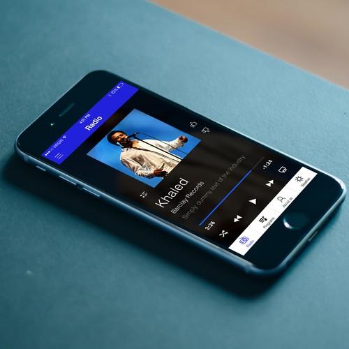 Music App for Radio