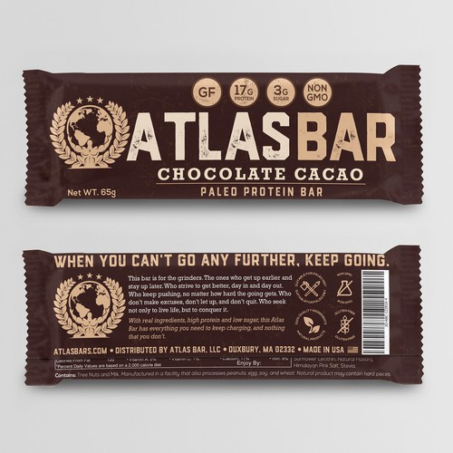 Protein Bar Needs Powerful New Packaging