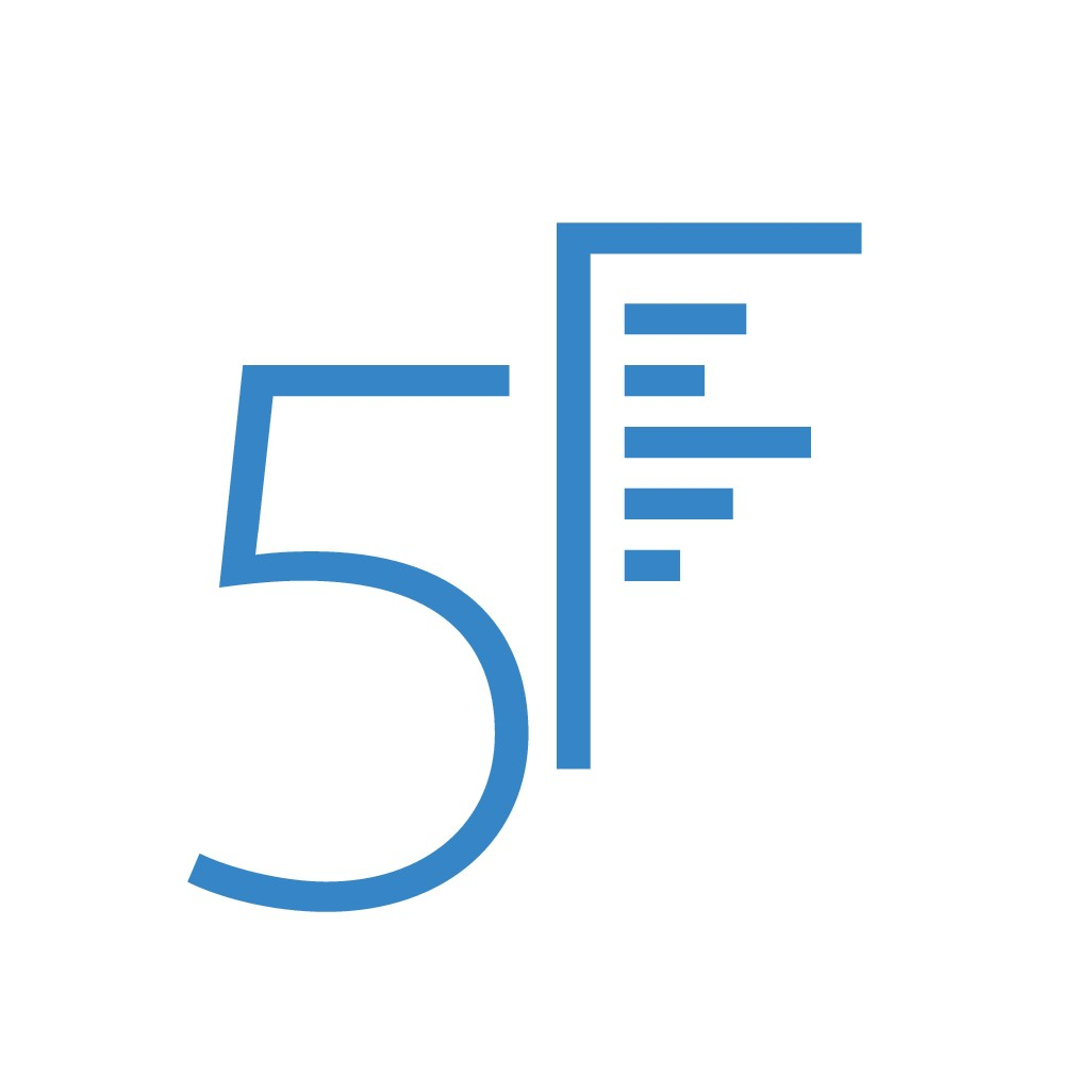FiveFiguresNews is looking for a strong, miminal logo with a 5 and an F