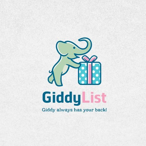 Giddy List Logo Design