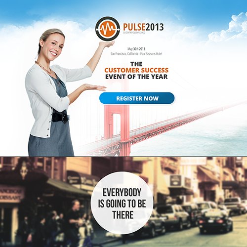 The 2013 Customer Success Conference Webpage