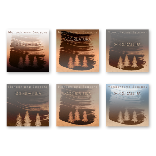 Music Album Cover for Instrumental Ambient Artist