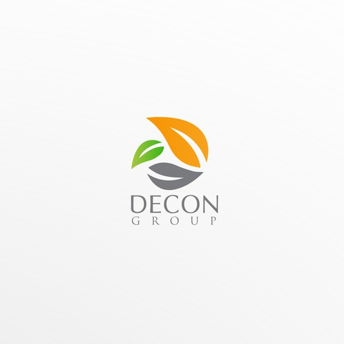 Elegant logo design concept for DECON group