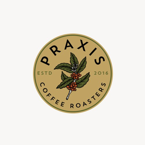 Praxis Coffee Roaster Logo