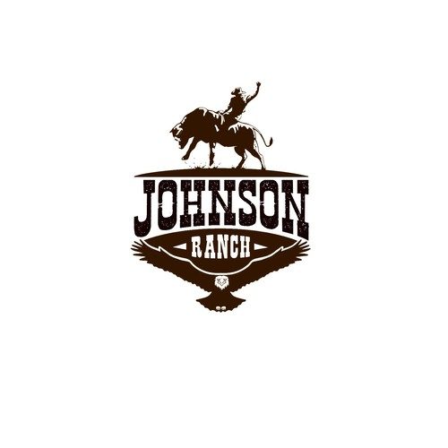 Bold logo concept for Johnson Ranch