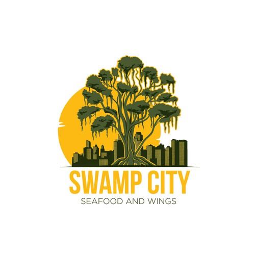 Swamp city logo