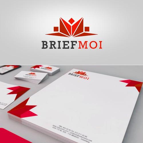 BRIEF MOI logo design