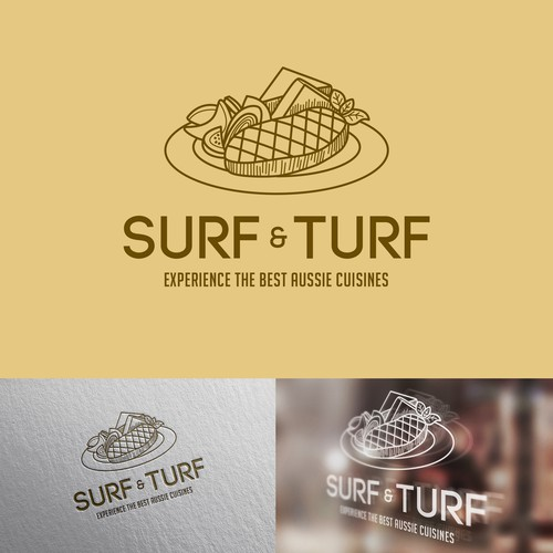 Surf & Turf Logo