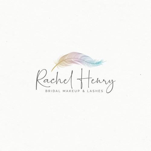 logo design for bridal makeup artist and lash technician