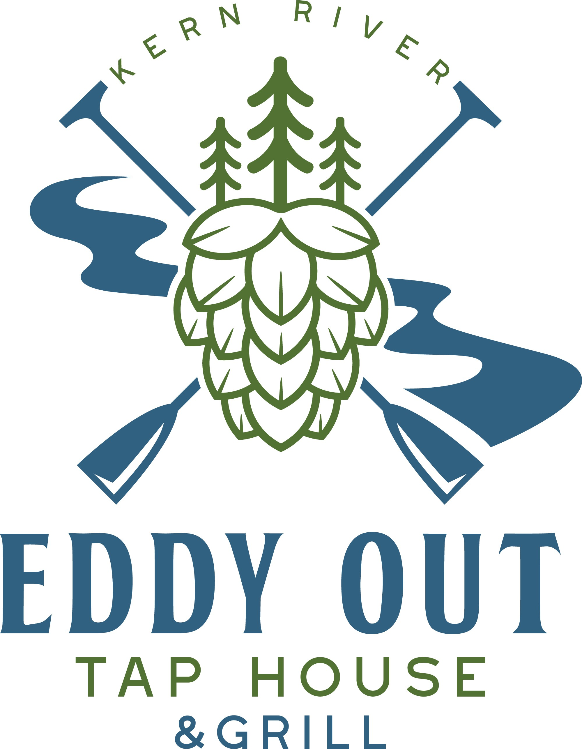 We need a logo for our Tap House on the Kern River that screams Eddy out!