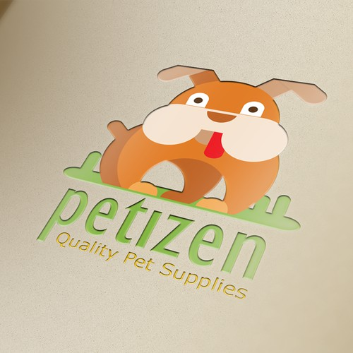 playful logo concept for petshop
