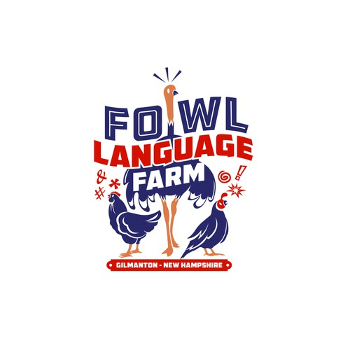 Logo Fowl Language Farm