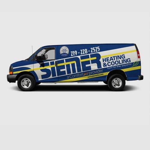 Heating and cooling trucks for Siemer Heating & Cooling