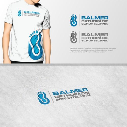 Logo Für Balmer Orthopädie