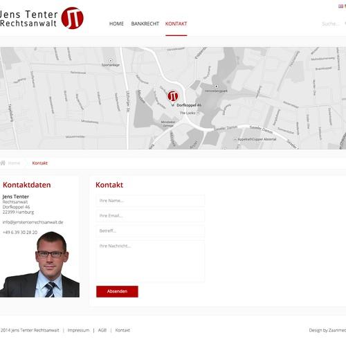 Website Design für Rechtsanwalt