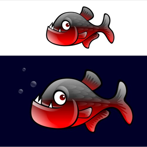 Piranha Mascot