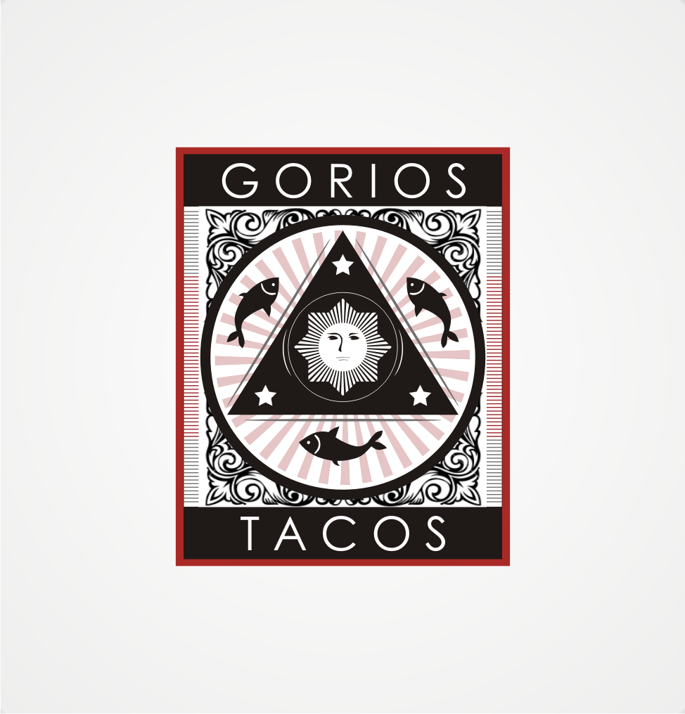 Gorios.......or .......Gorios Tacos needs a new logo