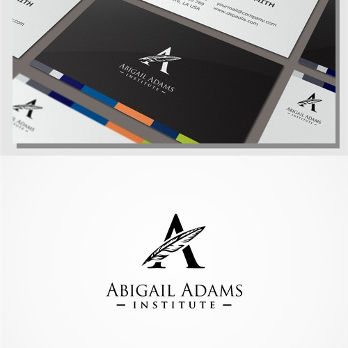 logo design for the Abigail Adams Institute