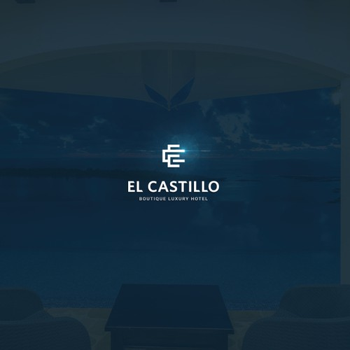 Logo concept for El Castillo hotel