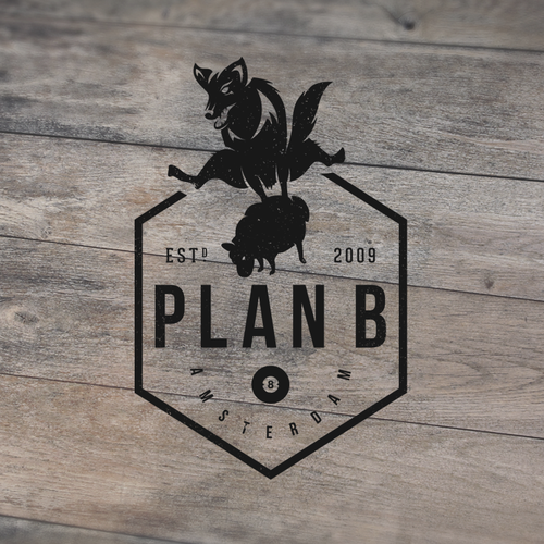 Create a stylish logo for Plan B