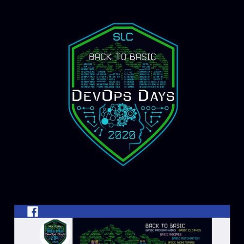 Logo for 2020 SLC DevOps Days Conference