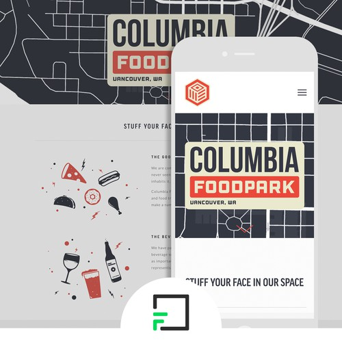 Squarespace Website Design for Restaurant Incubator