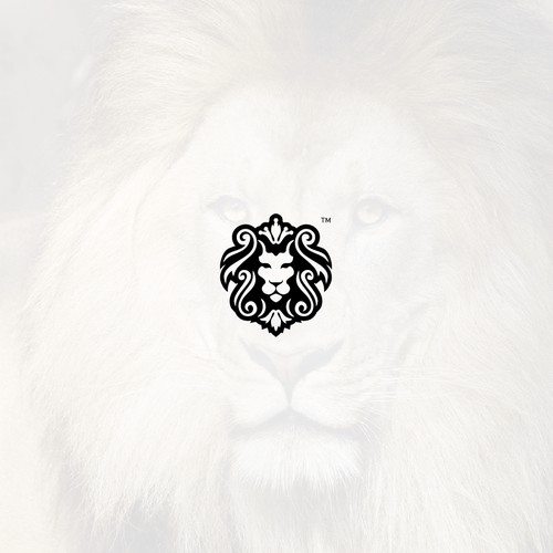 Lion logo for American urban street fashion