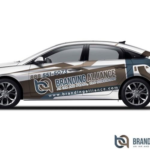 Wrap-up Design for Branding Alliance