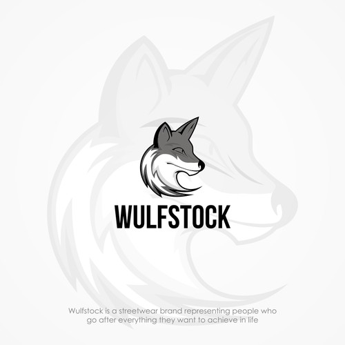 Logo design for WULFSTOCK