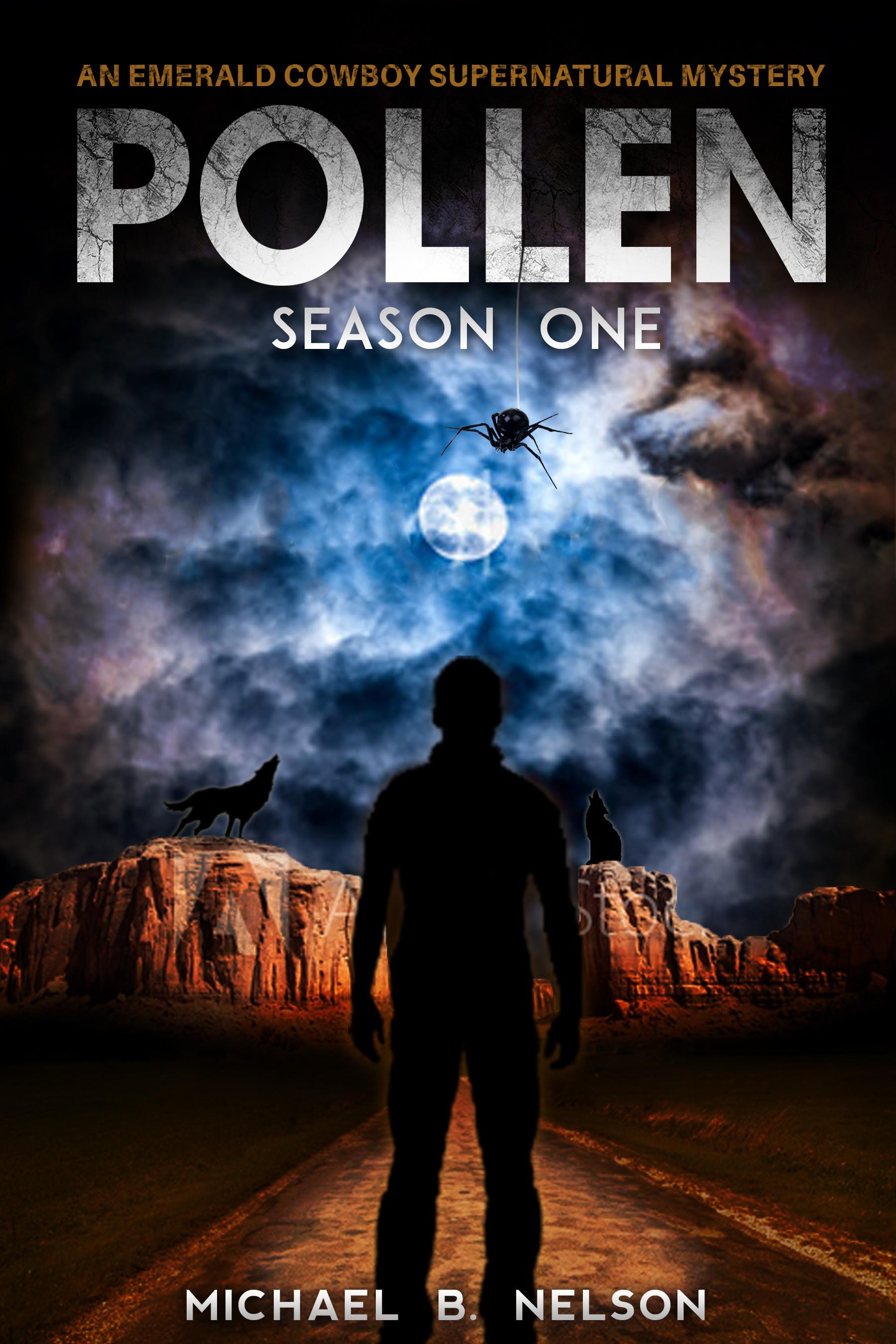 Design a Book Cover for the Fantasy Adventure novel, POLLEN.
