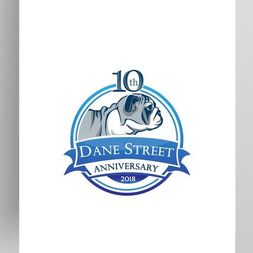 Dane Street 10th Anniversary logo