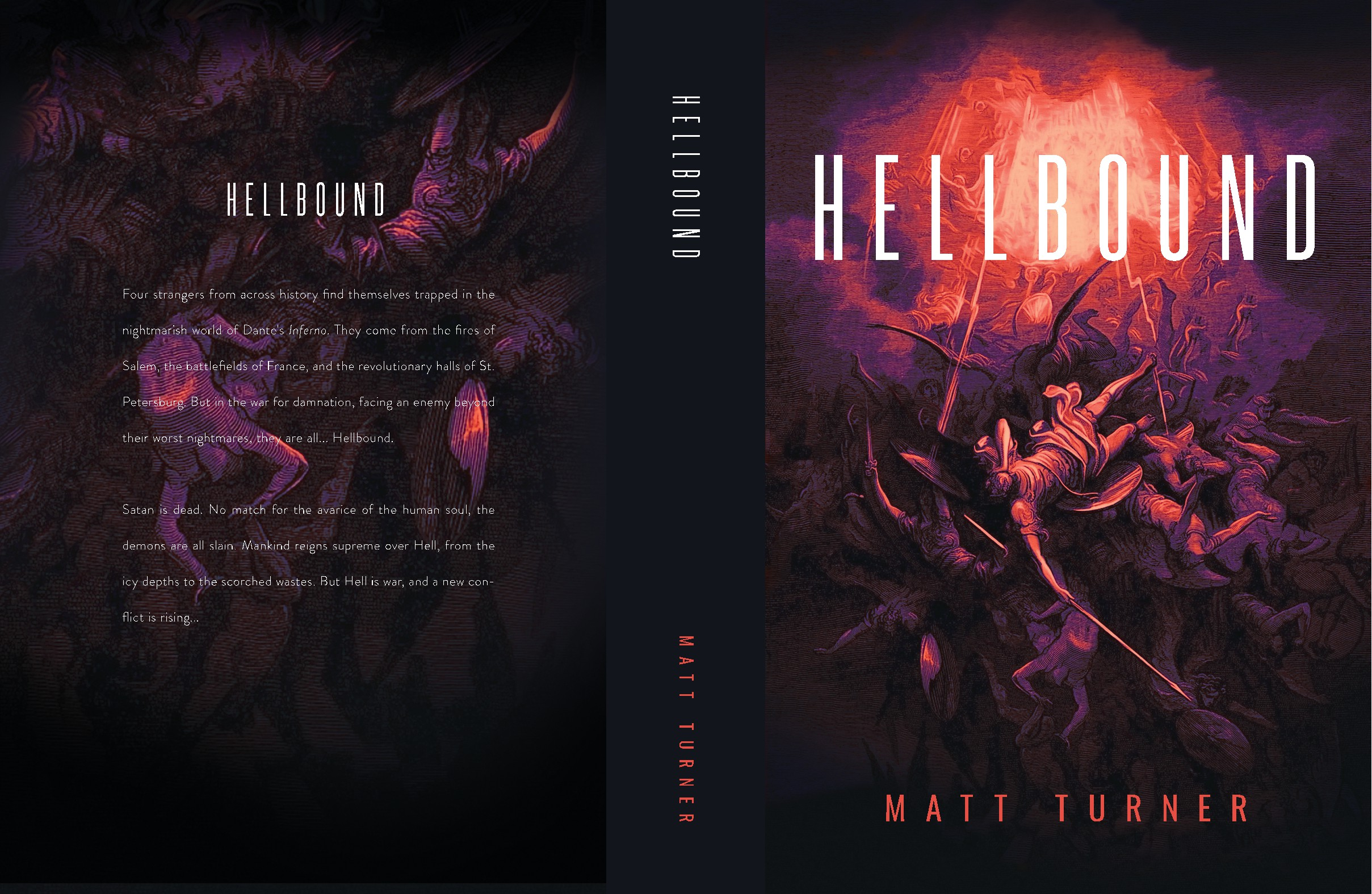 Design a Badass Book Cover for War in Hell