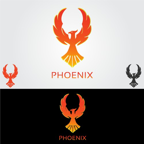 Phoenix logo needed for DoTA 2 professional gaming tournament / broadcast studio
