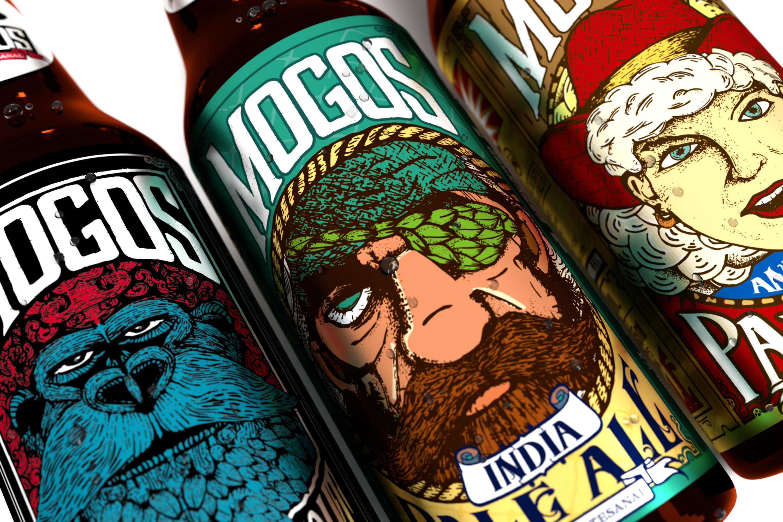 (1) Etiqueta para envase de Cerveza IPA