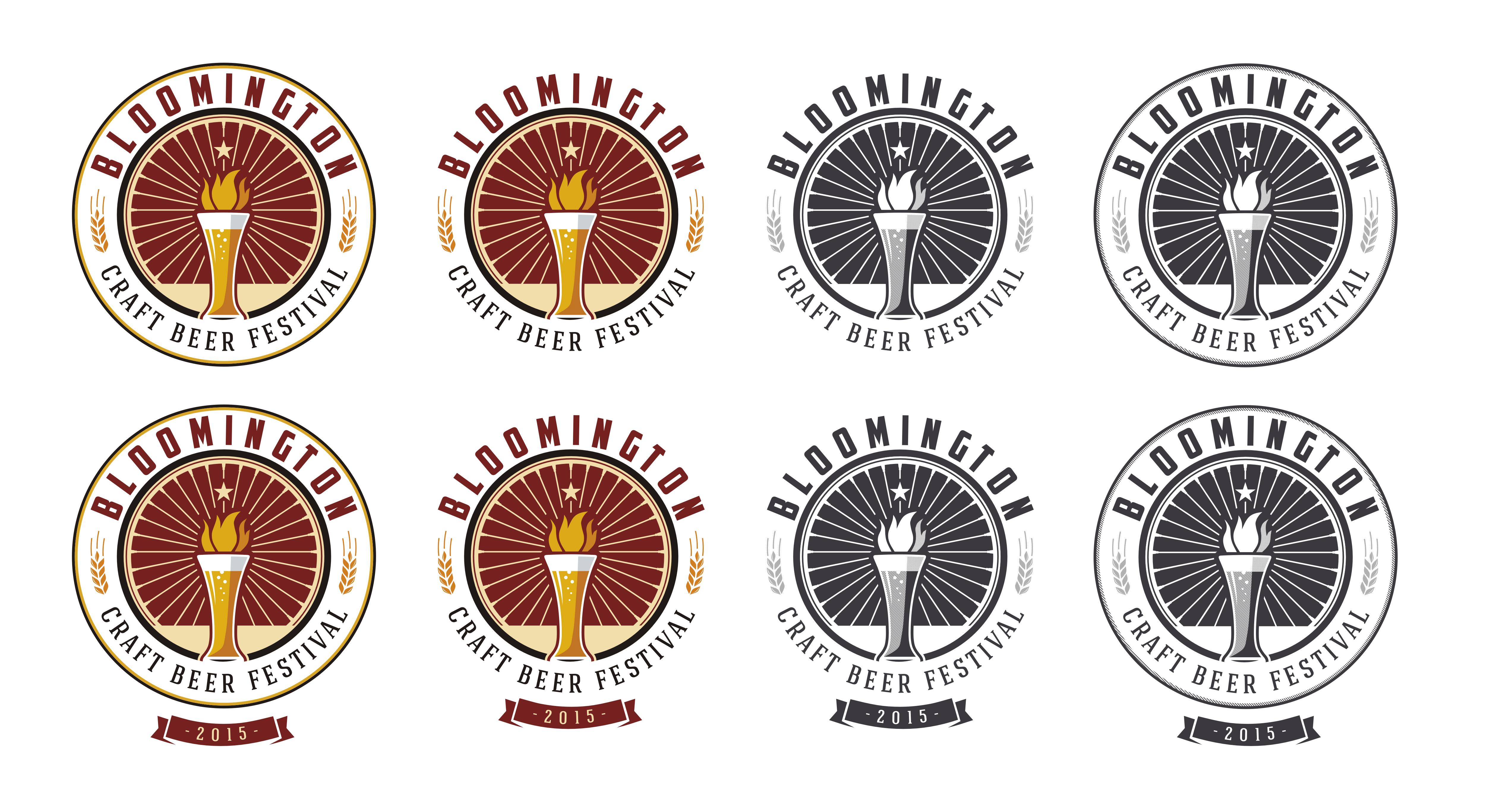 Design a logo for Bloomington Craft Beer Festival