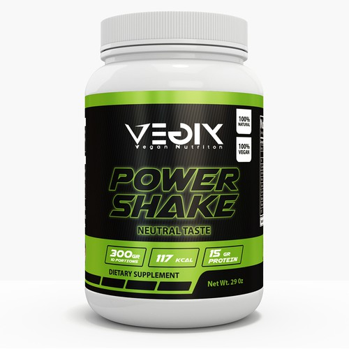 Design the most fancy, modern and simple supplement label for great work-out.