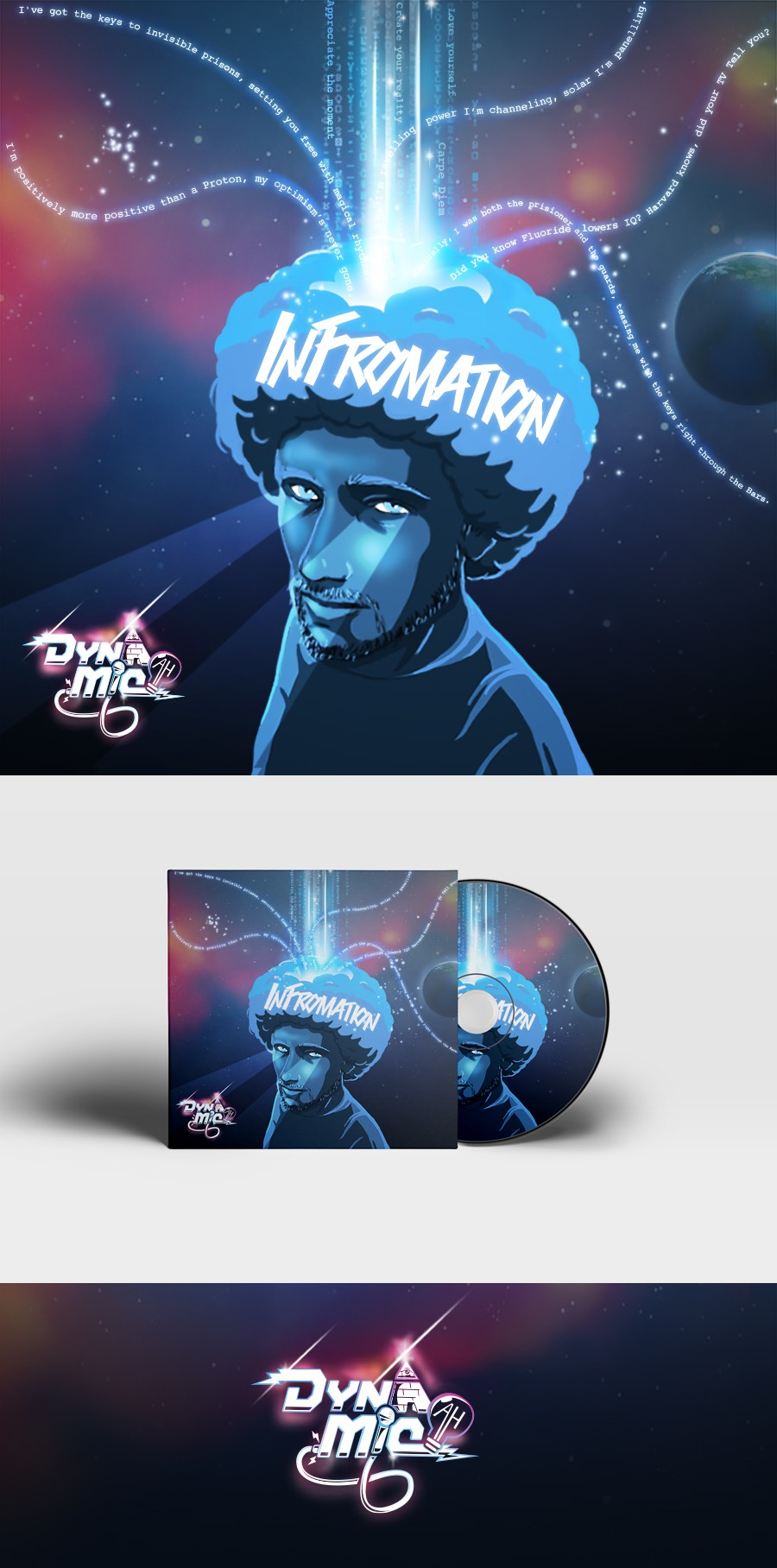 Be part of a movement - Design DynA-MicAH his new album cover.